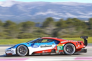 WEC Testing report Ford GT makes dynamic European debut at 'The Prologue'