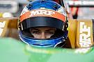 Bahrain MRF Challenge: Newey takes first pole of season