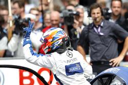 second place for Gary Paffett, Mercedes-AMG Team ART, Mercedes-AMG C63 DTM