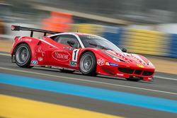 #1 VISIOM Ferrari F458 GT2: Jean-Paul Pagny, Thierry Perrier, Jean-Bernard Bouvet
