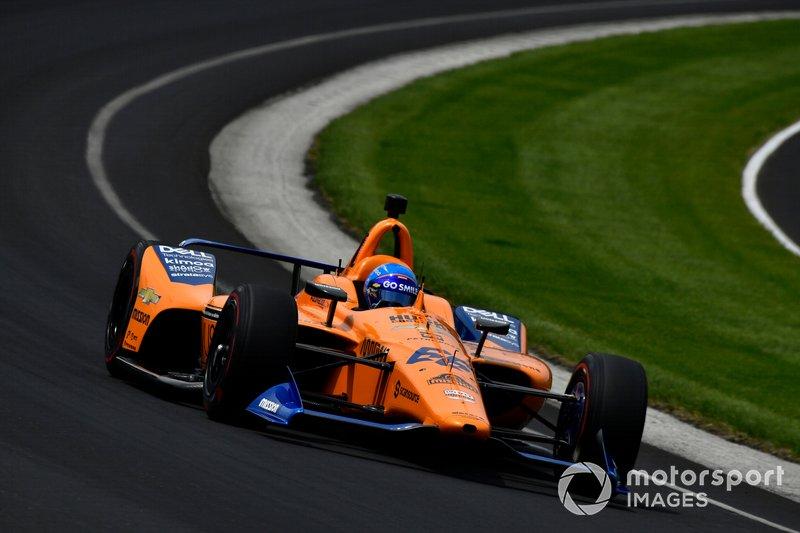 Auto - Indycar - 500 Miles d'Indianapolis : Fernando Alonso revient avec Arrow McLaren SP