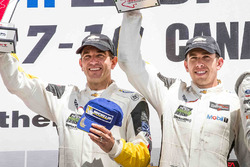 GTLM podium: second place #4 Corvette Racing Chevrolet Corvette C7.R: Oliver Gavin, Tommy Milner