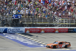 Daniel Suarez, Joe Gibbs Racing Toyota takes the win