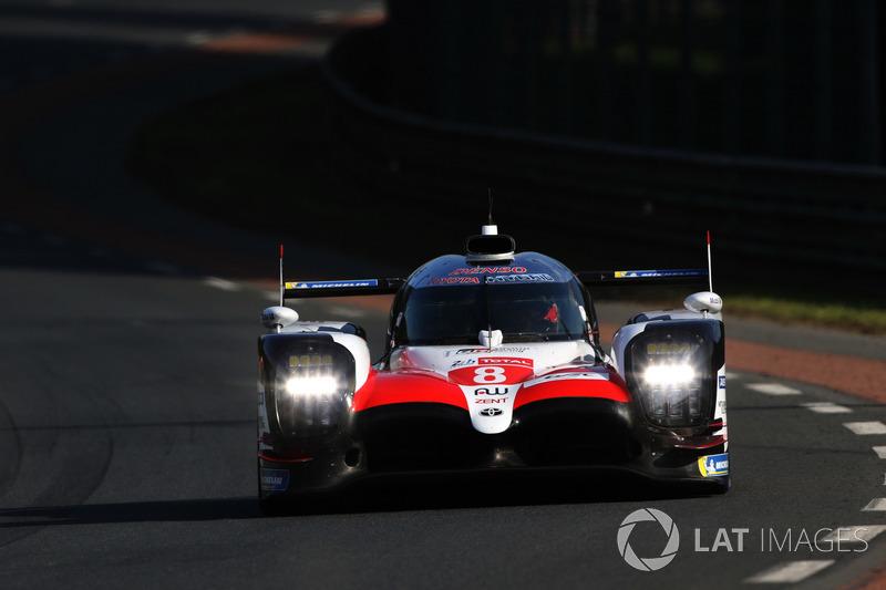 8 Toyota Gazoo Racing Toyota TS050 Sébastien Buemi Kazuki Nakajima Fernando Alonso