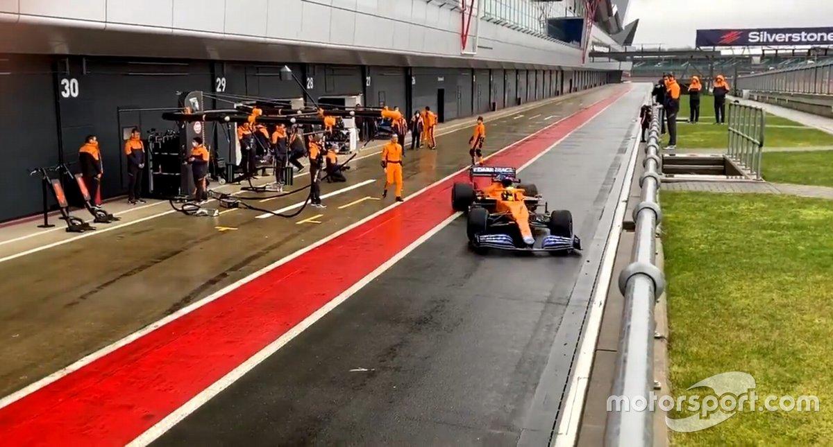 McLaren MCL35M, Silverstone, Lando Norris