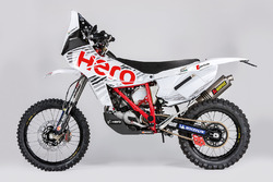 Bike of CS Santosh, Hero MotoSports Team Rally