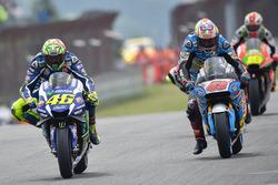Valentino Rossi, Yamaha Factory Racing and Jack Miller, Marc VDS Racing Honda