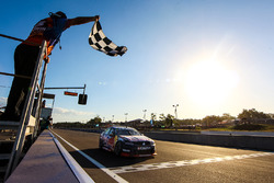 Jamie Whincup, Triple Eight Race Engineering Holden takes the checkered flag