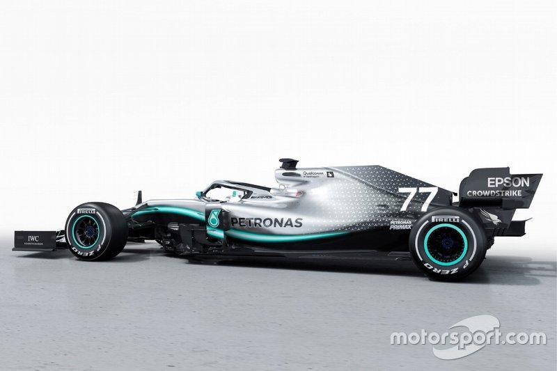 Mercedes dévoile sa W10 et vise le record !