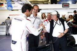 Mark Webber, Porsche Team, Oliver Blume, Chairman of the Executive Board of Porsche AG, Dr. Wolfgang Porsche
