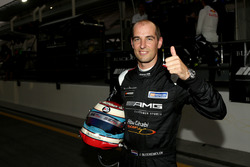 Pole position for #2 Black Falcon Mercedes AMG GT3:  Jeroen Bleekemolen