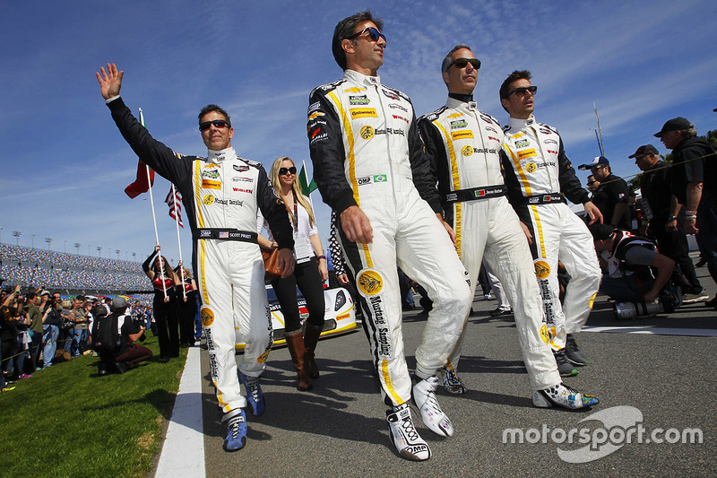 6. #5 Action Express Racing Corvette DP: Joao Barbosa, Christian Fittipaldi, Filipe Albuquerque, Scott Pruett