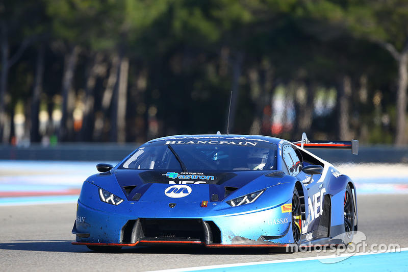 100 attempto racing lamborghini huracan gt3 at paul ricard march testing. Black Bedroom Furniture Sets. Home Design Ideas