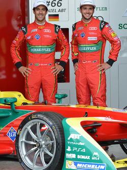 Lucas di Grassi, Daniel Abt, ABT Schaeffler Audi Sport