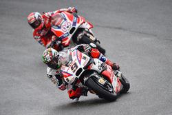 Danilo Petrucci, Pramac Racing and Andrea Dovizioso, Ducati Team