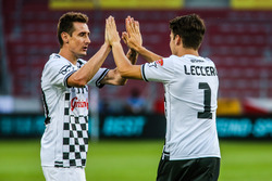 Miroslav Klose, football player and Charles Leclerc, driver