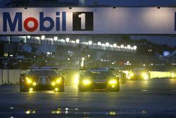 Night race action
