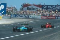 Формула 1 Фотографії - Іван Капеллі, Leyton House CG901 Judd, Алан Прост, Ferrari 641
