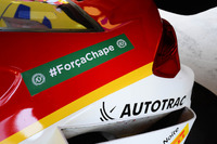 Stock Car Brasil Photos - Shell car remembering Chapecoense
