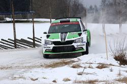 Pontus Tidemand, Jonas Andersson, Skoda Motorsport Skoda Fabia R5