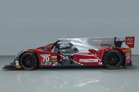 IMSA Photos - Special livery for the #70 Mazda celebrating the 25th anniversary of Mazda's win at Le Mans