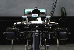 Mercedes AMG F1 Team W07, front view