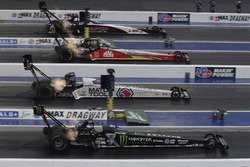 Steve Torrence, Doug Kalitta, Antron Brown, Brittany Force