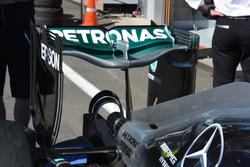Rear wing, Mercedes AMG F1 W07 Hybrid