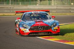 #00 AMG-Team Black Falcon, Mercedes AMG-GT3: Yelmer Buurman, Maro Engel, Bernd Schneider,