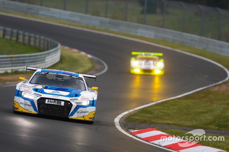 VLN 2: #5 Phoenix Racing, Audi R8 LMS