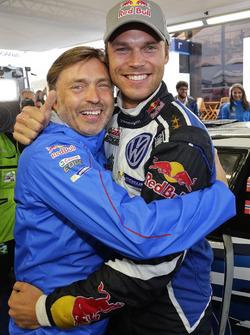 Andreas Mikkelsen, Volkswagen Polo WRC, Volkswagen Motorsport with Jost Capito, Volkswagen Motorsport Director