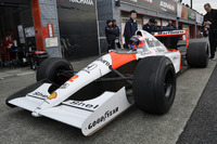 General Photos - Jenson Button, McLaren MP4/6