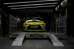 The car of Matt Kenseth, Joe Gibbs Racing Toyota