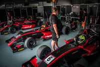 Formula Renault Photos - Black Arts Racing garage