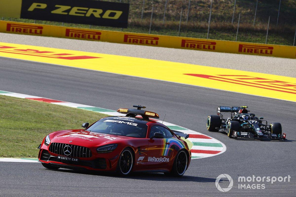 The Safety Car Valtteri Bottas, Mercedes F1 W11
