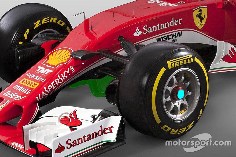 Turning vanes detail
