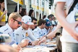 Autograph session, BMW driver, Maxime Martin, BMW Team RBM, BMW M4 DTM, Tom Blomqvist, BMW Team RBM, BMW M4 DTM, Bruno Spengler BMW Team MTEK, BMW M4 DTM