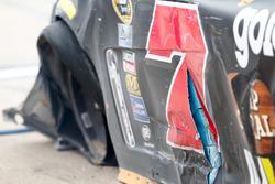 Regan Smith, Tommy Baldwin Racing Chevrolet crash