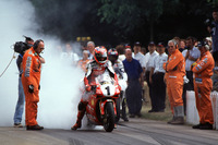 Vintage Photos - Carl Fogarty, Ducati
