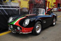 StileF Squadra Corse car in the paddock