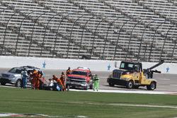 Gabby Chaves, Dale Coyne Racing Honda in trouble
