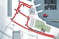 Formula E Photos - Hong Kong ePrix track layout
