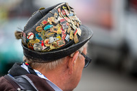 Endurance Photos - German hat with racing pins
