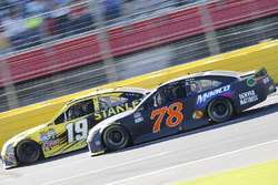 Martin Truex Jr., Furniture Row Racing Toyota, Carl Edwards, Joe Gibbs Racing Toyota