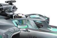 F1 canopy design