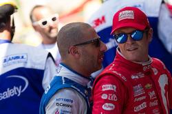 Tony Kanaan, Chip Ganassi Racing Chevrolet, Scott Dixon, Chip Ganassi Racing Chevrolet