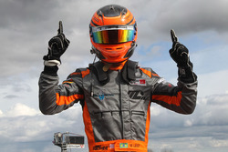 Race winner Matheus Leist, Double R Racing