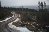 WRC Photos - Part of the rally route