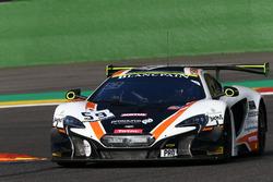 #59 Garage 59, McLaren 650 S GT3: Struan Moore, Alex Fontana, Andrew Watson