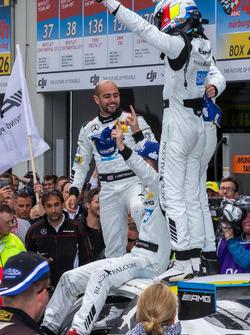 1st place #4 AMG-Team Black Falcon, Mercedes-AMG GT3: Bernd Schneider, Maro Engel, Adam Christodoulou, Manuel Metzger